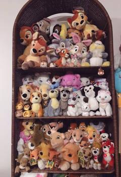 Disney plush collection