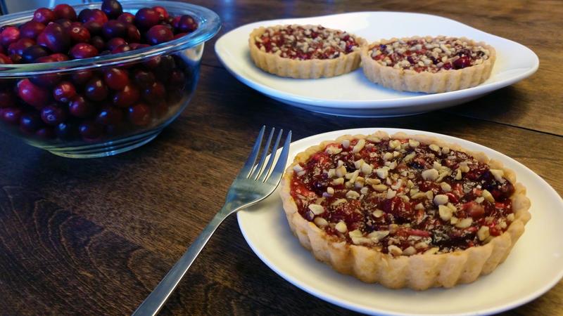 Cranberry Orange Apple Walnut Tartlets by SewAmusing