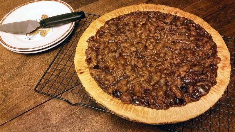 Pumpkin Pie Pecan Praline Top by SewAmusing