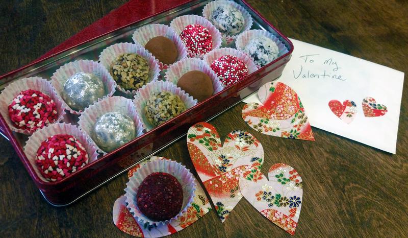 Valentine truffels by SewAmusing