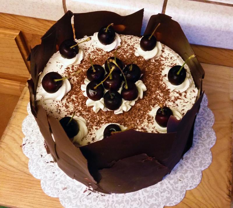 Swiss Black Forest Cake by SewAmusing
