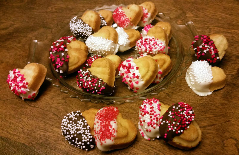 Valentine Butter Cookies by SewAmusing