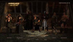 Midgard - Land of Men by warofragnarok