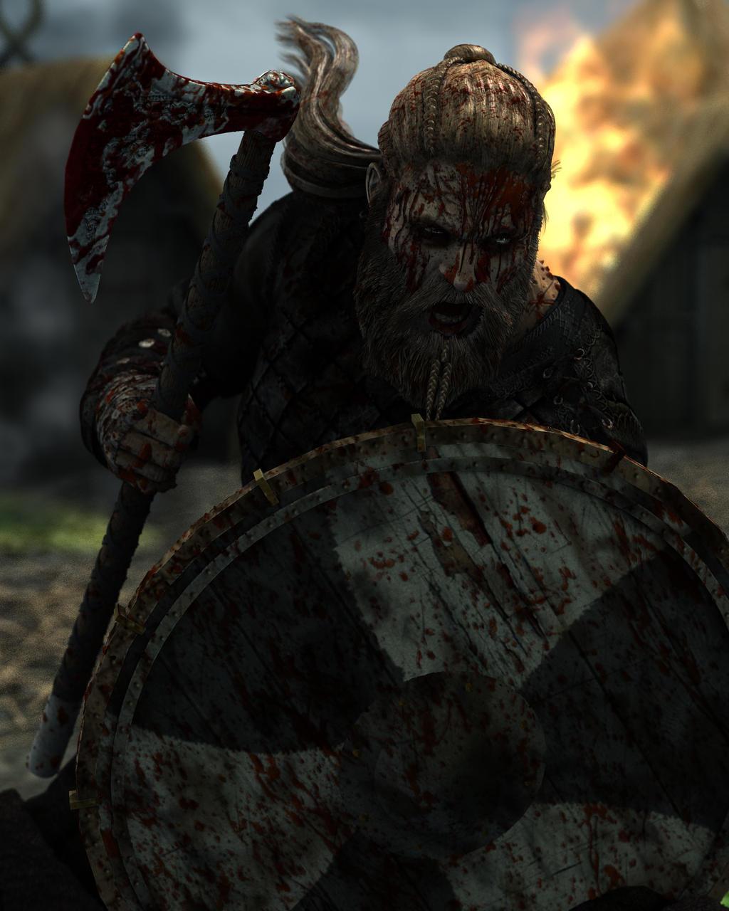 Viking Raid by warofragnarok