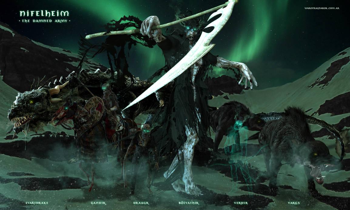 The Damned Army by warofragnarok
