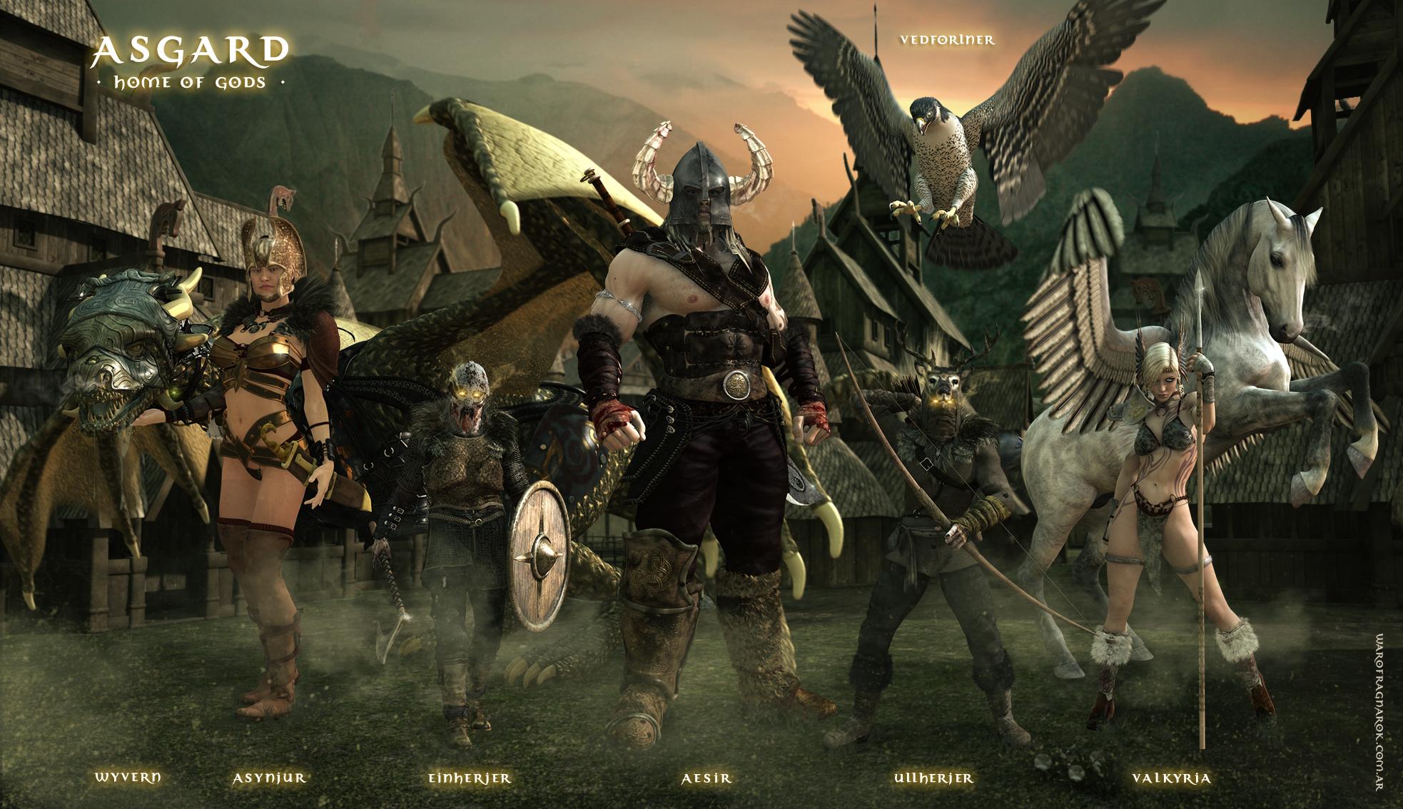 Asgard - Home of Gods by warofragnarok