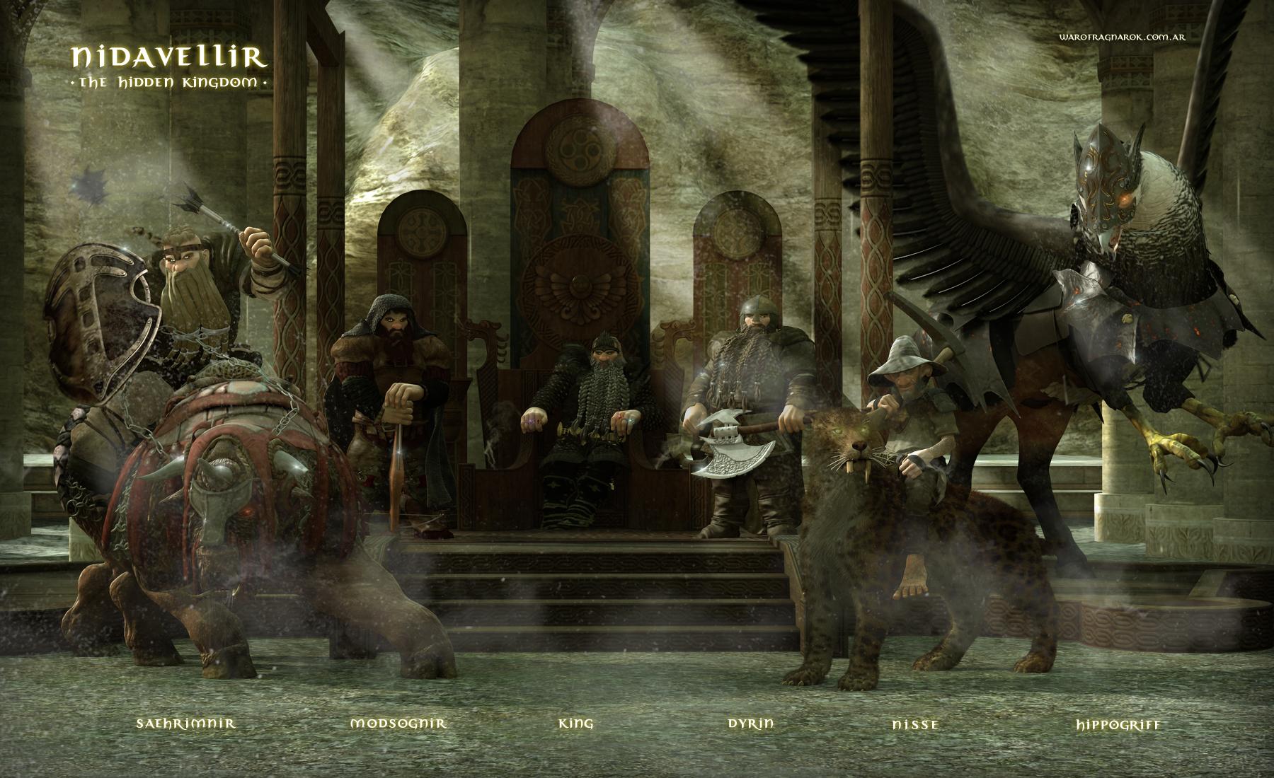 Nidavellir - The Hidden Kingdom