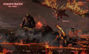 Muspelheim - Fire Born by warofragnarok