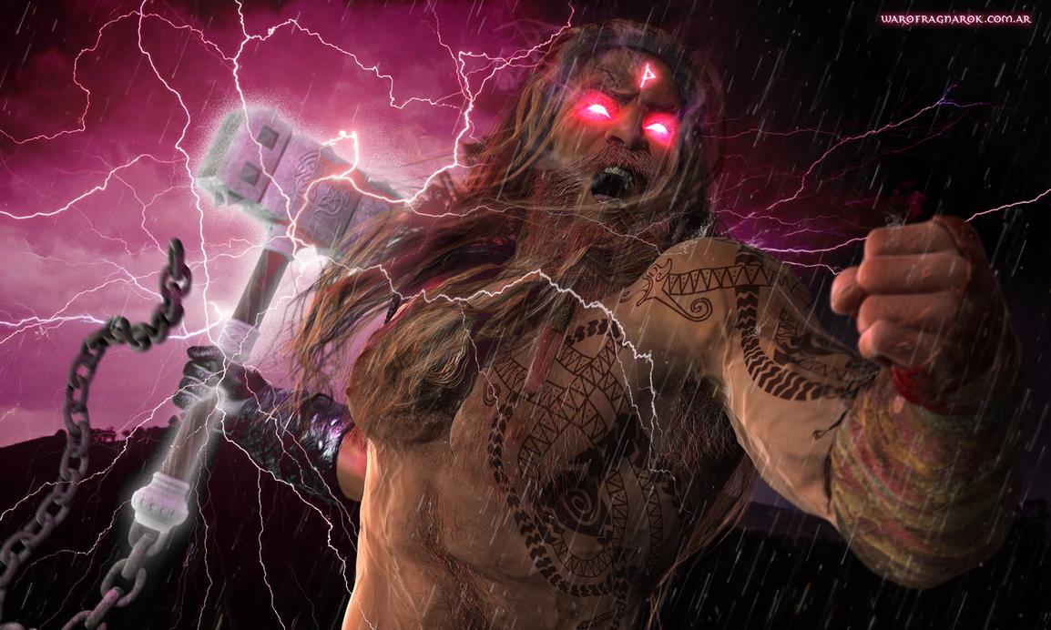 Wrath of the god by warofragnarok