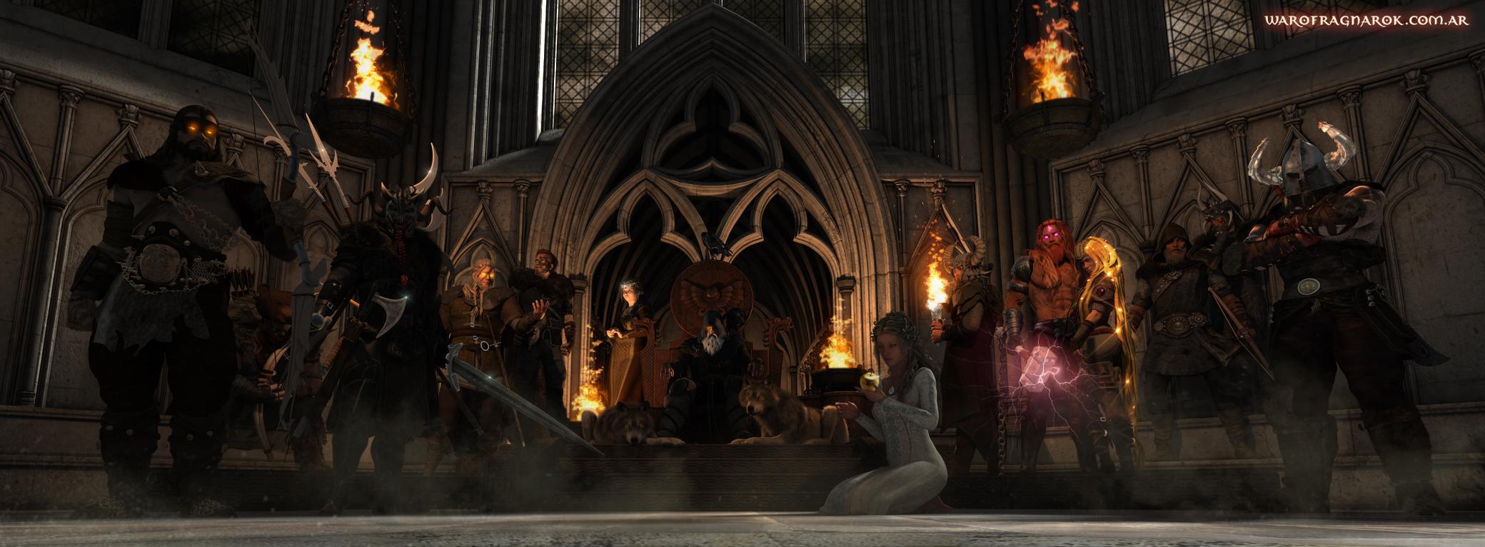 Gods of Asgard by warofragnarok