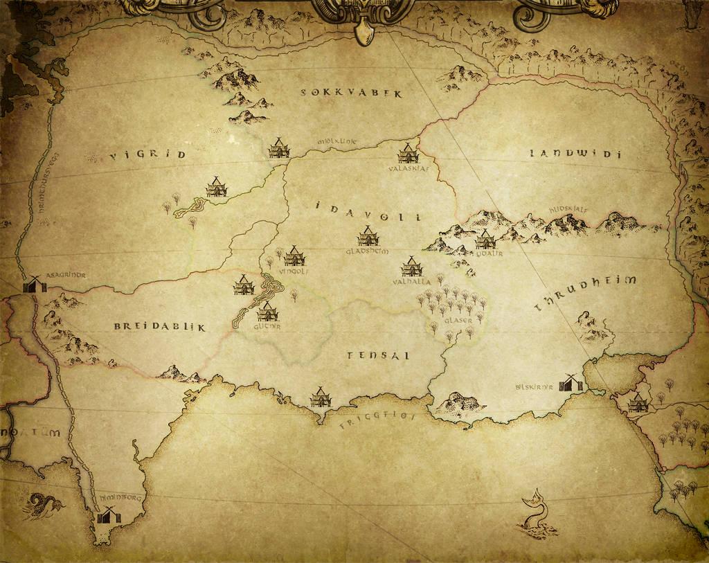 Asgard by warofragnarok