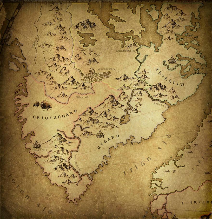 Jotunheim by warofragnarok