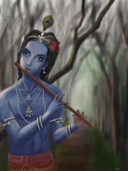Krishna by BertMills