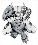 Taurus zodiac concept