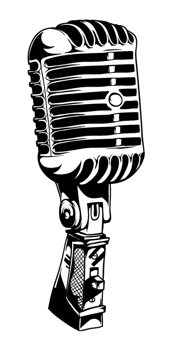 Line Art Microphone : Vintage microphone by t hspoon on deviantart