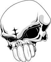 skull urban by T3hSpoon