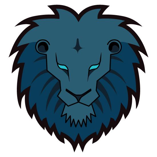 Simple lion head clipart - photo#12