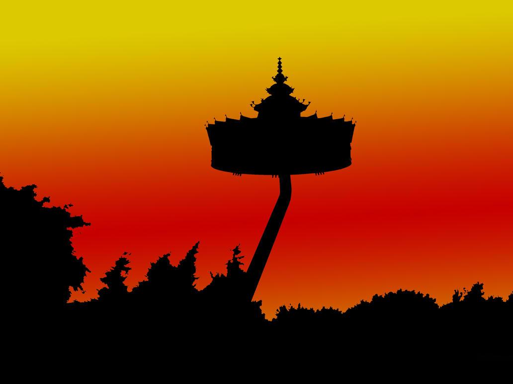 pagode efteling wallpaper by shutny on deviantart