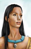 Real Princess: Pocahontas by LiberianGurrl