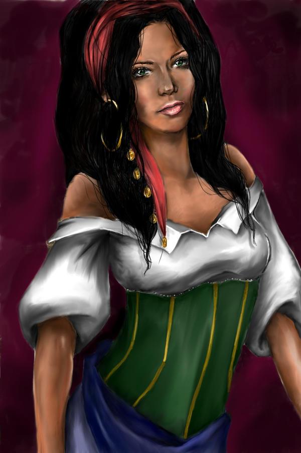 Esmeralda of Notre Dame by LiberianGurrl