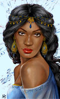 Real Princess: Jasmine by LiberianGurrl