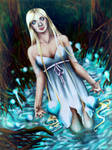 The Lady from the Lake by LiberianGurrl