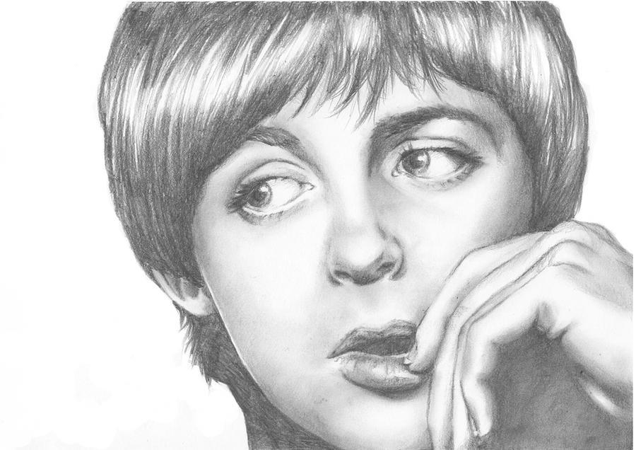 Paul McCartney By LiberianGurrl