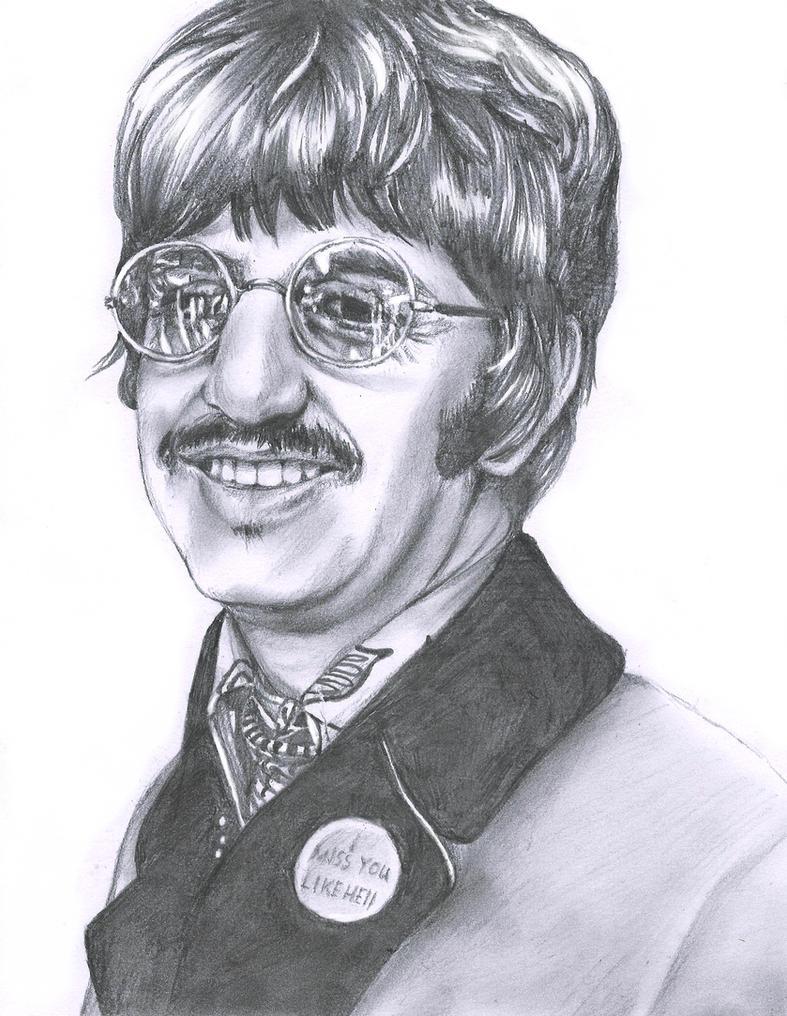 Ringo Starr by LiberianGurrl