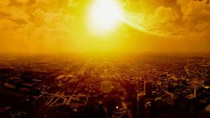Burning City by PetZ-I