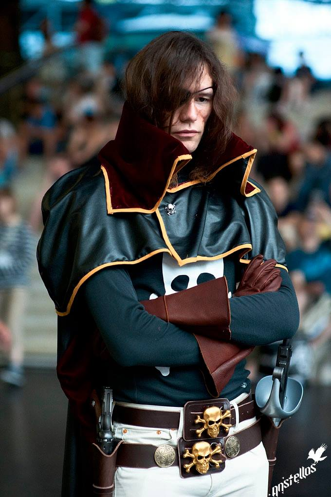 Harlock thinking by Arwander