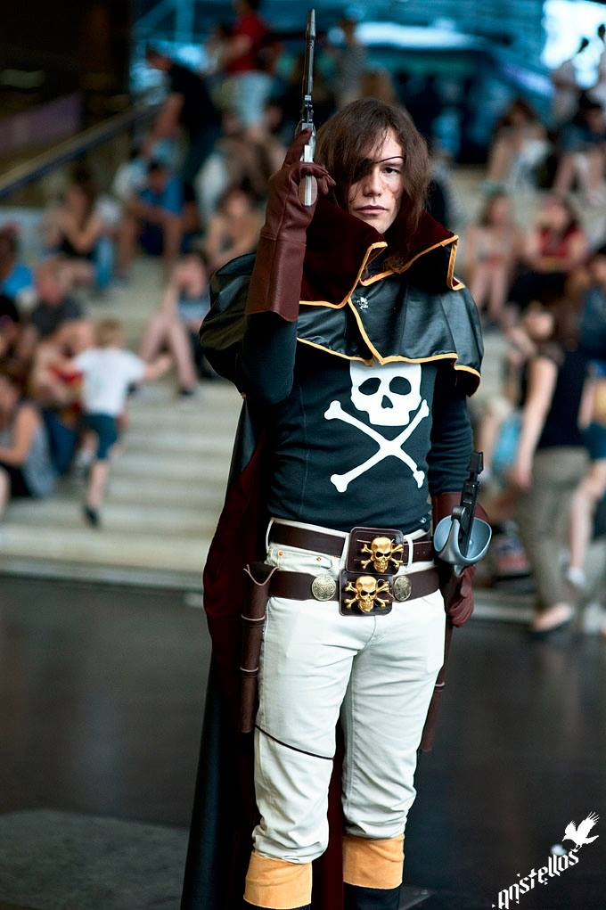 Captain Harlock cosplay by Arwander