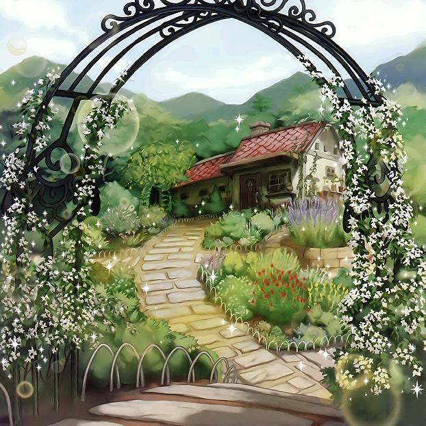 Aroma Garden by Freezadon