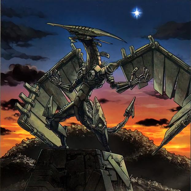 Scrap-Iron Statue by Freezadon