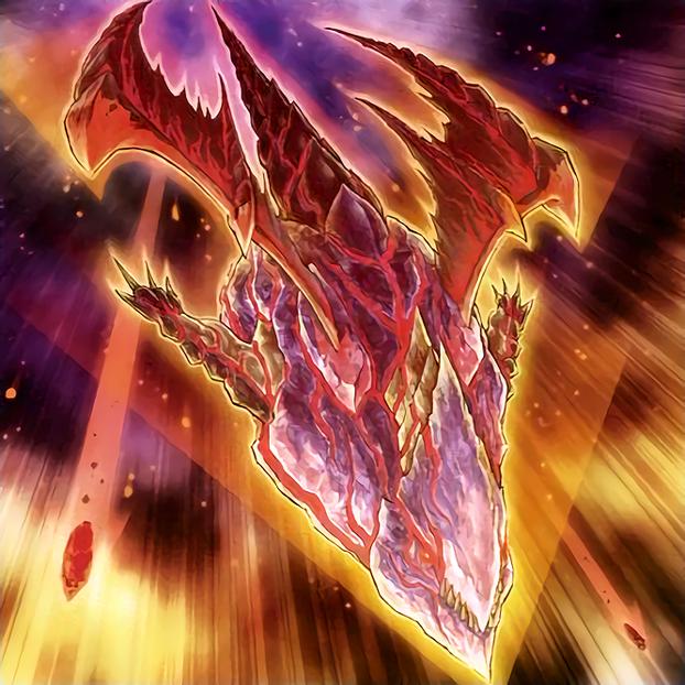 Meteor Dragon Red-Eyes Impact by Freezadon
