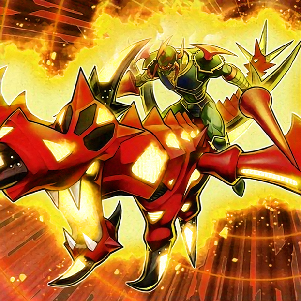 Sky Galloping Gaia the Dragon Champion by Freezadon