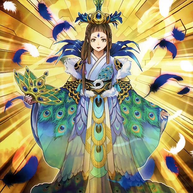 Shinobaroness Peacock by Freezadon