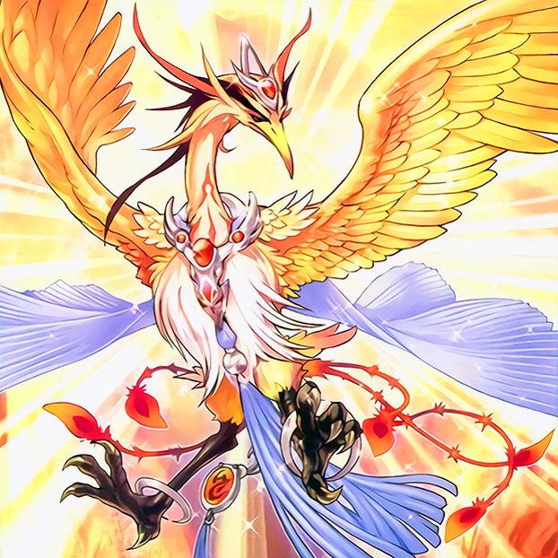 Vennu, Bright Bird of Divinity by Freezadon