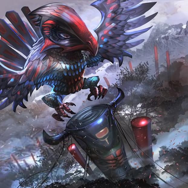 Totem Bird by Freezadon