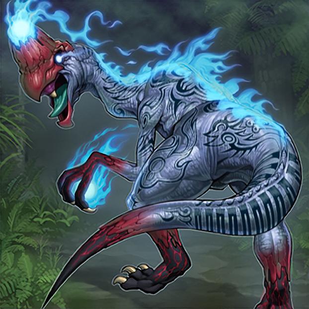 Souleating Oviraptor by Freezadon