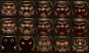 Ranger's 'Quakeguy' faces by Clownboss