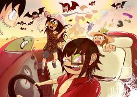 Fear and Loathing in Watamote by Clownboss