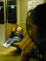 the boy on the bart