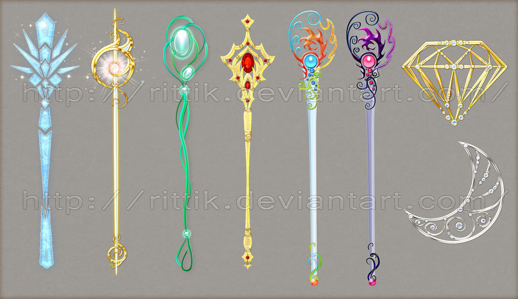 Staff adopts 3 closed by rittik designs on deviantart - Coole wanddesigns ...
