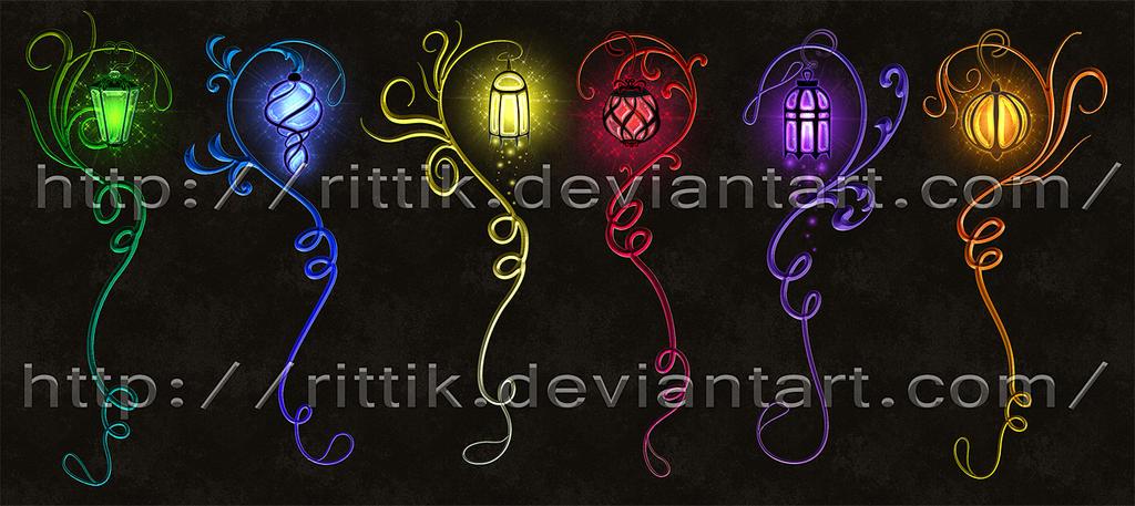 Staff adopts 16 (CLOSED) Magic Lamp set by Rittik-Designs