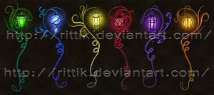 Staff adopts 16 (CLOSED) Magic Lamp set
