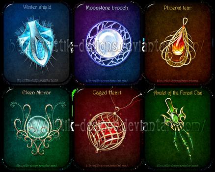Magic items adopts 3 (CLOSED) by Rittik-Designs