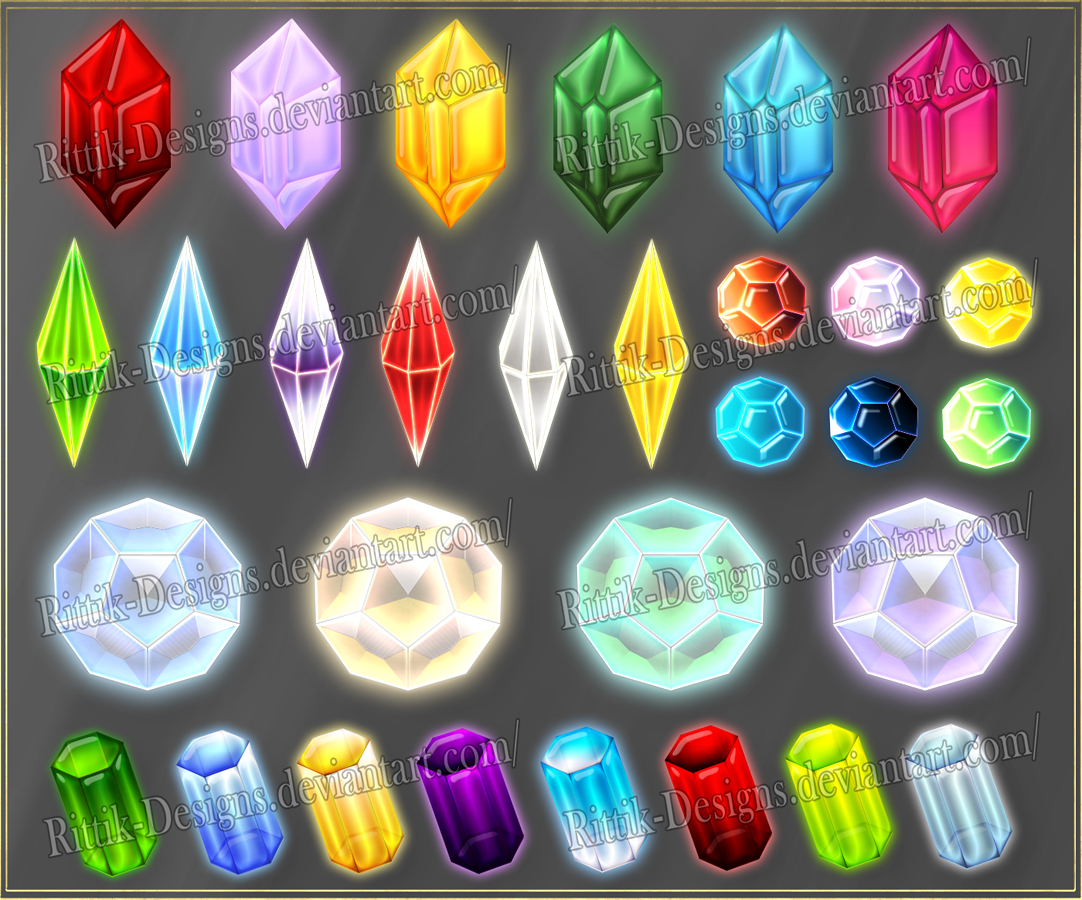 Gems 5 (downloadable stock)