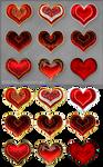 Hearts (free stock)