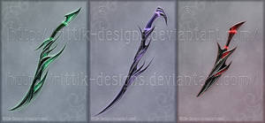 Shadow assassin's swords (CLOSED)