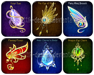 Magic items adopts 6 (CLOSED) by Rittik-Designs